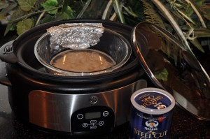 Steel Cut Oatmeal Preparation in crockpot