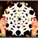 Child's Paper Snowflake