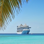Cruise Ship in Tropical Location