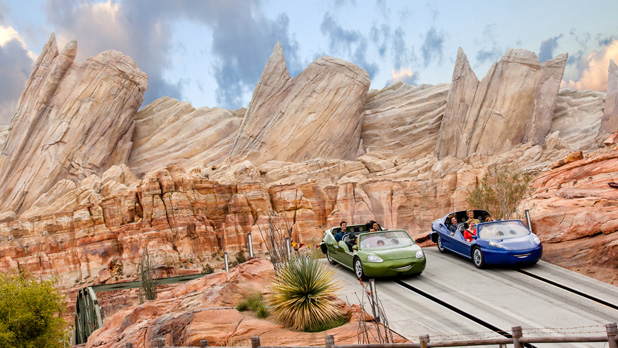 Disney Cars Land Ride