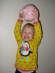 Lexi's piggy Bank